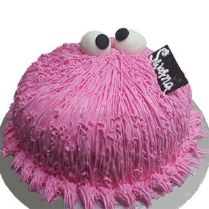 Hairy Cartoon Cake