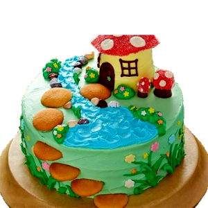 Fairy Farmhouse Cake