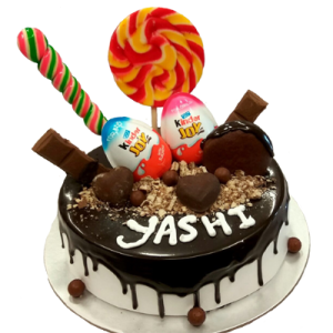 Messy Deserts Cake