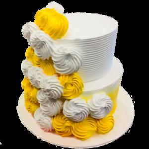 Flowers blossom Cake